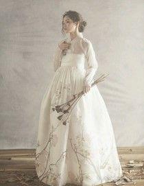 Korean dress. hanbok. Wedding gift present.
