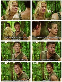 The Walking Dead ..Am I the only one Zen around here? Probably my favorite line from the entire show lol