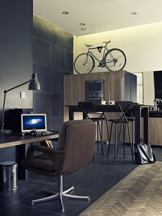 Creative Studio design by Viktor Csap, via Behance