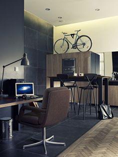Creative Studio design by Viktor Csap, via Behance