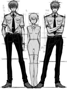 パイロットギノラフ+狡噛 宜野座は何させてもDT臭かった Psycho Pass, Black Wings, Character Drawing, Manga, Anime Shows, Character Design Inspiration, Design Reference, Perfect Man, Fangirl