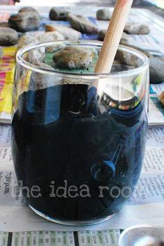 Vivere a piedi nudi living barefoot: Un lunedì da PIN! Chalkboard paint - Effetto lavagna!