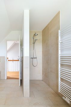 Bright with - ECO System HAUS - - ideas ideas floor plan shower Pintogopin Club - Pintogopin Club Mode - Fashion <-> Diy Shower, Walk In Shower, Shower Bathroom, Bad Inspiration, Interior Decorating, Interior Design, Big Houses, Discount Designer, Small Bathroom