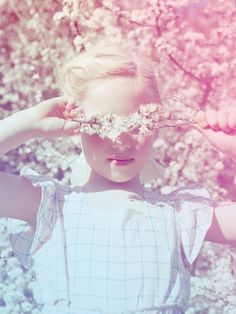 Emma Tunbridge photography of vintage pastel kids fashion from Dinky Vintage for summer 2013