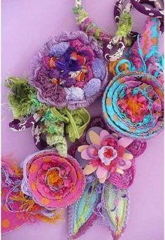 °Bijoux textiles°Elena Fiore