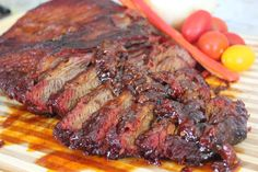 Drunk Brisket with Bacon BBQ Sauce - Powered by @ultimaterecipe
