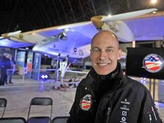 Andre Borschberg and Solar Impulse - Across America 2013