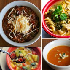 23 Healthy Winter Soups // make some to freeze and some to keep in the fridge for lunch, dinner and late night snacks via PopSugar Fitness #clean