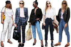 15 key pieces every woman needs in her wardrobe. A guide to tomboy style.