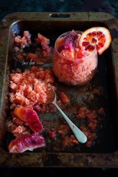 Two loves studio - blood orange granita
