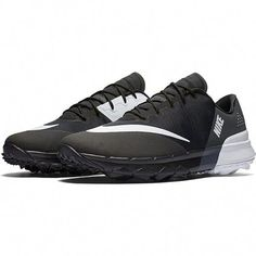 9ed1daaba1986 Check out what has for your days on and off the golf course   Black White Anthracite Nike Ladies FI Flex Golf Shoes