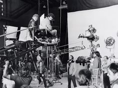 "Behind the scenes on ""Return Of The Jedi""."