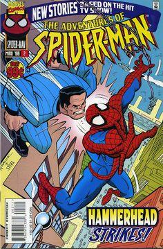 Adventures of Spider-Man X-Men Flip Book 2 Spiderman Comic Books, Dc Comic Books, Comic Art, Howard The Duck, Luke Cage, Daredevil, Punisher, Comic Covers, X Men