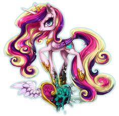 my little pony fan art   Queen Chrysalis - My Little Pony Friendship is Magic…