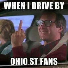 GO BLUE!!! (Chevy Chase)