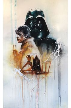 """A fight before truth"" Original Star Wars Artwork by Rob Prior in Art, Direct from the Artist, Other Art from the Artist 