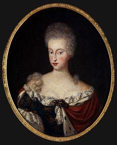 Electress Maria Antonia of Austria by ? (location unknown to gogm)   Grand Ladies   gogm