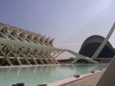 The City of Arts and Sciences of Valencia, our architectural holiday.