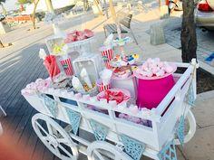 Carros de chuches y donuts  Alquiler en Mallorca  Flores de Mallorca