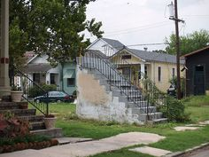 stairs to nowhere new orleans ninth ward