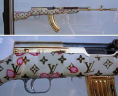 guns for women | Screw perfume, buy her a Chanel rocket launcher [dvice]