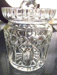 WATERFORD-CRYSTAL-LISMORE-BISCUIT-COOKIE-JAR