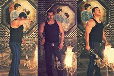 Bollywood's Dabangg Salman Khan's look in his next Sooraj Barjatya's film has been revealed. Salman Khan's sister Arpita has tweeted a number of pictures of her adoring brother Salman, in his 'Prem Ratan Dhan Payo' look.