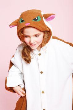 Kids Flying Squirrel Kigurumi Pajamas - 4kigurumi.com  http://www.4kigurumi.com/kids-flying-squirrel-kigurumi-pajamas