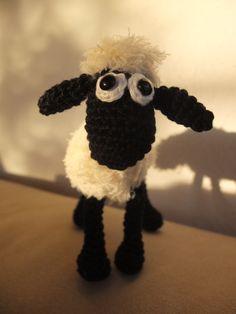 pattern: http://www.ravelry.com/patterns/library/shaun-the-sheep-small-crochet