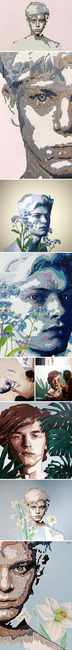 rana balca lker Contemporary Embroidery Contemporary Art