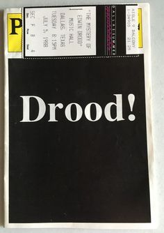 Vintage Drood! Playbill 1988, Dallas, w/ Jean Stapleton, Paige O'Hara