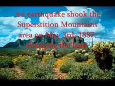 Popular Superstition Mountains and Lost Dutchman's Gold Mine ...