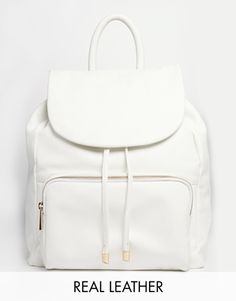 Urbancode Leather Backpack