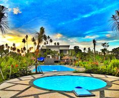 bukit kawanua golf residence, swimming pool facility