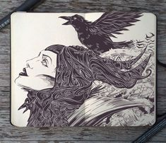 #89 Maleficent by 365-DaysOfDoodles.deviantart.com on @deviantART