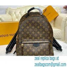 Louis Vuitton Monogram Canvas Palm Springs MM Backpack Bag M44874