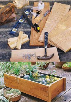 Buenas ideas para reciclar un neum tico hacer un mini for Estanque con neumatico