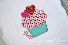 Girls Valentines Shirt  Girls Valentine's Day by MonogrammeMaison, $29.95