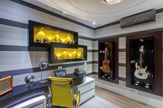 moderne Arbeitszimmer von Arquiteto Aquiles Nícolas Kílaris