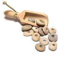 Just add milk....    Lake Beach Stones Pebbles Strand  diy Focal Jewelry by StoneMe, $14.50