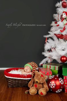 Newborn Photo Prop Christmas Elf Crochet Baby by BabiesByHand, $25.00
