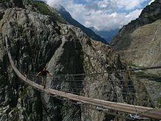 Trift Suspension Bridge, Switzerland