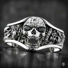 mens accessories – High Fashion For Men Skull Wedding Ring, Silver Skull Ring, Skull Rings, Skull Jewelry, Gothic Jewelry, Silver Jewelry, Biker Rings, Oldschool, Viking Jewelry