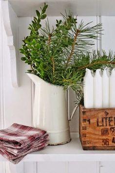Ramas de pino natural para decorar   Decorar tu casa es facilisimo.com