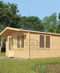 "Micro Log Cabin x ""Faversham"" Outdoor Rooms, Outdoor Living, Outdoor Kitchens, Cedar Cabin, Camping Pod, Cottage Porch, Window Sizes, Tiny House Cabin, Little Cabin"