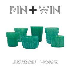 Jayson Home Pin + Win Contest.