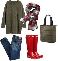 21 Ideas red hunter boats outfit winter plaid for 2019 Casual Winter Outfits, Fall Outfits, Cute Outfits, Outfit Winter, Boot Outfits, Winter Shoes, Fashion Models, Red Rain Boots, Hunter Boots Outfit