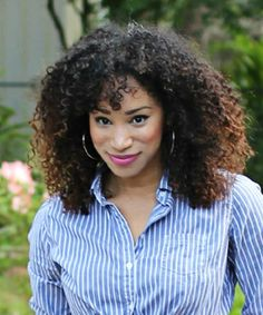 Top 10 Professional Curly Hairstyles @ biracial & mixed hair #biracialhair #mixedhair