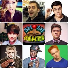 Smosh Games~<< I love these guys! They're funny and are total geeks, like most of us. Can we also admire Wes's cosplay? amAZING. Wes is so hottttt