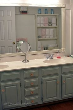 Willow Creek Bathroom Before & After! - All Things Heart and Home